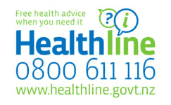 Free health advice when you need it: Healthline 0800 611 116