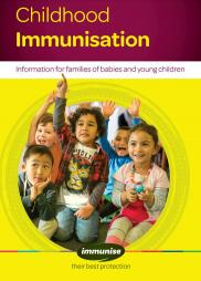 Childhood Immunisation booklet.