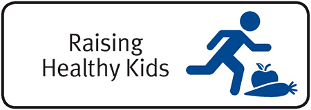 Logo for Raising Healthy Kids.