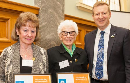 Image of Betty Murray and Lynn Butler, runners up in the Health Care Provider Service Individual Winners category.