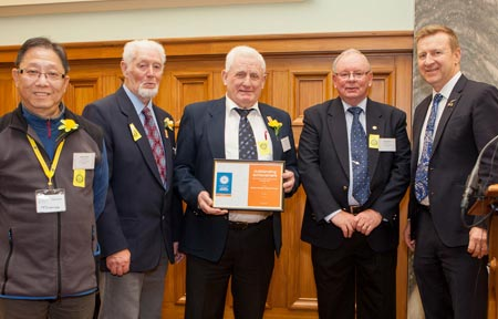 Image of the Volunteer Drivers, Cancer Society of New Zealand, runners up in the Community or NGO Health Service Team Volunteers category.