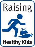 Raising health kids health target icon
