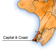 Capital and Coast map.