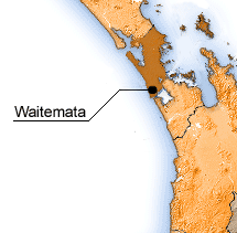 Waitemata map.
