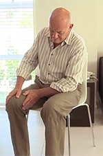 View the hip or knee joint replacements videos
