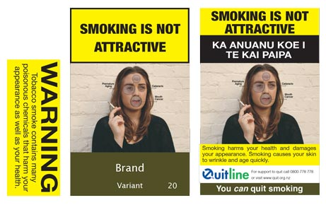Smoking is not attractive