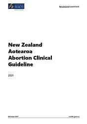 New Zealand Aotearoa Abortion Clinical Guideline