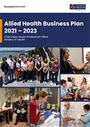 Allied Health Business Plan 2021–2023.