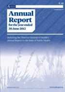 Annual report 2012 cover