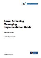 Bowel Screening Messaging Implementation Guide.