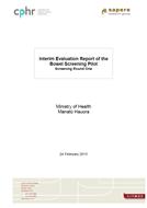 Interim Evaluation Report of the Bowel Screening Pilot
