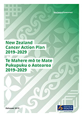 New Zealand Cancer Action Plan 2019–2029.