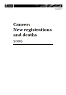 Cancer: Historical summary 1948–2009 cover