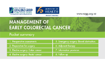 Management of Early Colorectal Cancer thumbnail image.