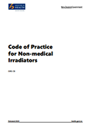 Code of Practice for Non-medical Irradiators