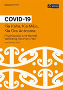 COVID-19 Psychosocial and Mental Wellbeing Recovery Plan.