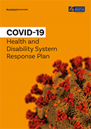 COVID-19 Health and Disability System Response Plan.