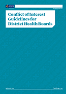 Conflict of Interest Guidelines for District Health Boards.