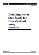 Drinking-water Standards for New Zealand 2005 (Revised 2018).