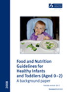 Food and Nutrition Guidelines publication cover