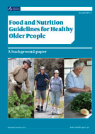 Cover for Food and Nutrition Guidelines for Healthy Older People