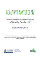 Healthy Families NZ Summative Evaluation Report.