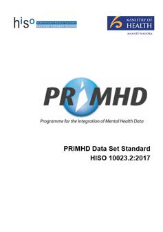 PRIMHD Data Set Standard
