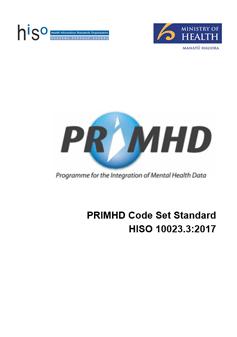 PRIMHD Code Set Standard.