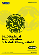 2020 National Immunisation Schedule Changes Guide.