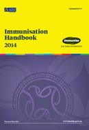 Immunisation hanbook cover.