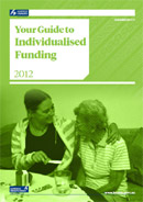 Your Guide to Individualised Funding cover image.