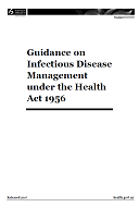 Guidance on Infectious Disease Management.
