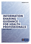 Information Sharing Guidance for Health Professionals.