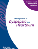 Management of dyspepsia and heartburn