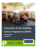 Evaluation of the Mobility Action Programme.