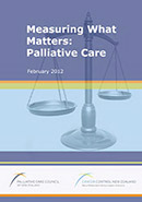 Measuring What Matters: Palliative Care.