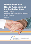 National Health Needs Assessment for Palliative Care Phase 2 Report.