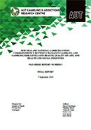 New Zealand National Gambling Study correspondences report.