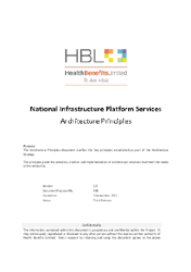 National Infrastructure Platform Services.
