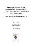 Cover of Pathways to Child Health.