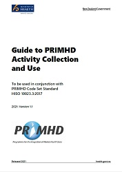 Guide to PRIMHD Activity Collection and Use