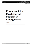 Framework for Psychosocial Support in Emergencies cover.