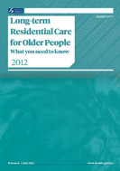 Long-term Residential Care for Older People cover image.