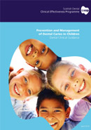 Prevention and Management of Dental Caries in Children: Guidance in Brief