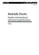 Suicide facts cover.
