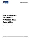 Proposals for a Smokefree Aotearoa 2025 Action Plan.