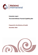 Evaluation report: The Sorted Whānau Financial Capability pilot.