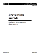 Preventing suicide: Guidance for emergency departments