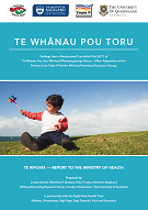 Te Whānau Pou Toru publication cover