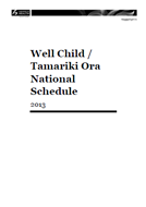 Schedule cover.